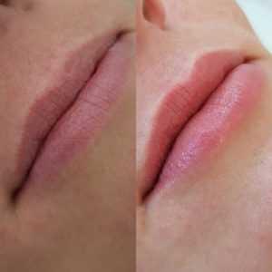 авкарельные губы татуаж Архангельск